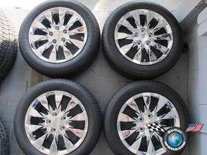 Factory 16 Wheels Tires Chrome Rims OEM 63995 205/55/16 Bridg
