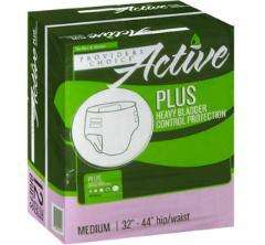 Active Plus Adult Diaper Briefs Medium 96/case