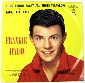 Frankie Avalon Dont Throw Away All Those Teardrops 7