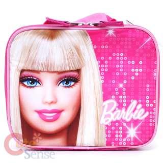 Barbie School Roller Backpack Lunch Bag Large Set 16
