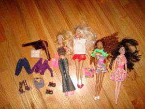Huge Lot My Scene Mattel Barbie Dolls Clothe Accessory
