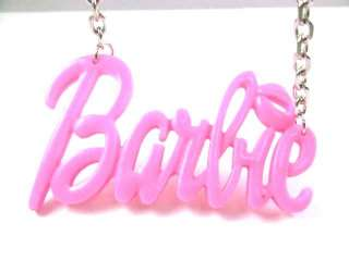 NEW NICKI MINAJ BARBIE Pink Pendant w/18 Chain