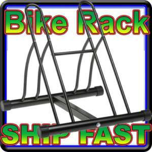 NEW Racor Two Bike Floor Bicycle Bike Stand Rack PBS 2R