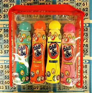 4CT CARRY PACK REGULAR BINGO DAUBERS 88ML EA 5 8