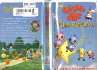 VHS DISNEYS ROLIE POLIE OLIE BABY BOT CHASE