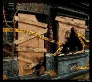 PLAYSCALE MINIATURE CRIME SCENE TAPE FOR GI Joe, Barbie, Bratz DIORAMA