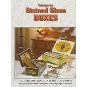 Patterns for Stained Glass Boxes   Revised Designs for