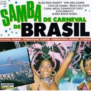 Samba De Carnival Brasil: Various Artists: Music