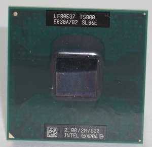 Intel Mobile Core 2 Duo T5800 CPU SLB6E 2MB/800 Mhz
