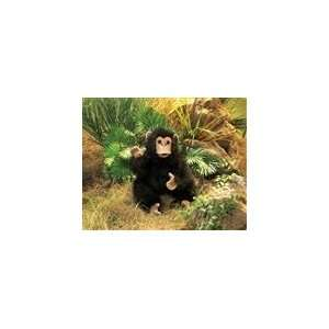 Baby Chimpanzee Puppet With Full Body By Folkmanis Puppets
