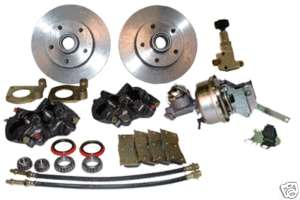 1965 1966 Mustang Power Disc Brake Conversion Kit