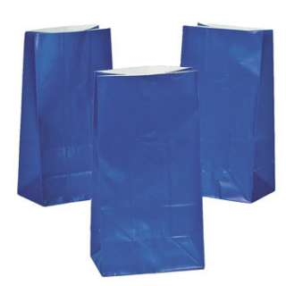 Lot of 12 Paper Party Favor Treat Bags 011179590209