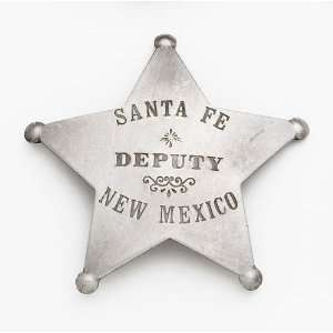 SANTA FE DEPUTY MARSHALL BADGE: Everything Else
