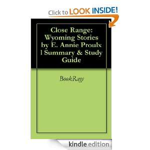 Range Wyoming Stories by E. Annie Proulx l Summary & Study Guide