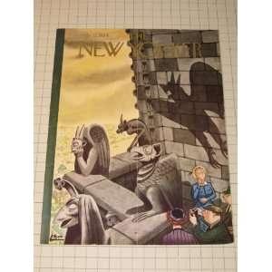 Magazine Cover: Charles Addams Cathedral Gargoyles Everything Else