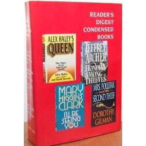 Mary Higgins Clark, Dorothy Gilman, David Stevens, Alex Haley: Books