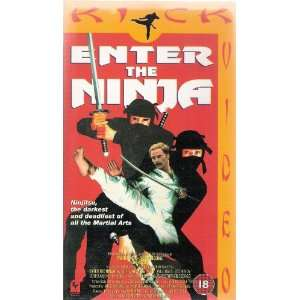 Enter the Ninja [VHS] Franco Nero, Susan George, Shô