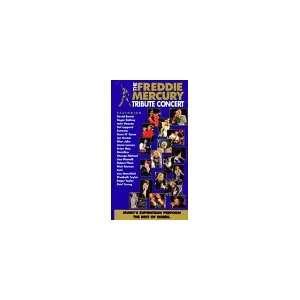 Freddie Mercury Tribute Concert [VHS] Freddie Mercury