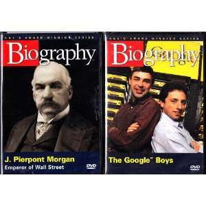 The Google Boys Biography and J. Pierpont Morgan Emperor
