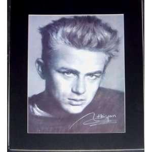 James Dean Matted Portrait (Movie Memorabilia)