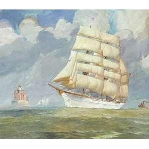 James Mitchell   U.S.C.G. Barque Eagle, 1948