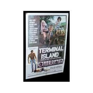 Terminal Island ORIGINAL MOVIE POSTER PHYLLIS DAVIS: Everything Else
