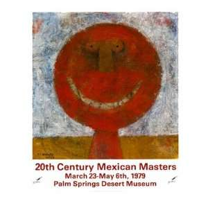Mexican Masters   Poster by Rufino Tamayo (23x26): Home & Kitchen