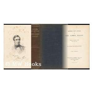 Memoirs and letters of Sir James Paget;: James Paget: Books
