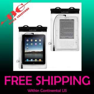 Dry Case Folio WATERPROOF iPad, Kindle Tablet Case