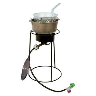 Kooker 22 in. Fish Fryer with Cast Iron Pot Grills & Outdoor Cooking
