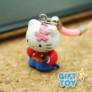 Sanrio Japanese Hello Kitty Samurai Cell Phone Charm