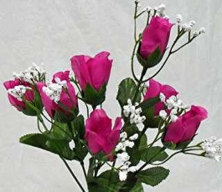 HOT PINK WATERMELON Silk Wedding Flowers Bouquets Centerpieces