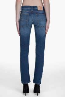 Nudie Jeans Tube Kelly Bright Blue Jeans for women