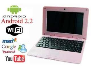 4GB 10 PINK WiFi mini Laptop Notebook Computer Netbook VIA8650