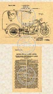 1932 INDIAN MOTORCYCLE Patent Trike Delivery Car #700
