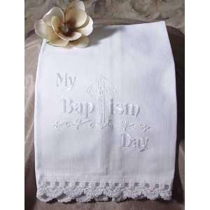Baptism Towel by Little Things Mean a Lot
