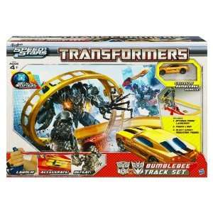 NEW Transformers BumbleBee Race Track Car Battle set