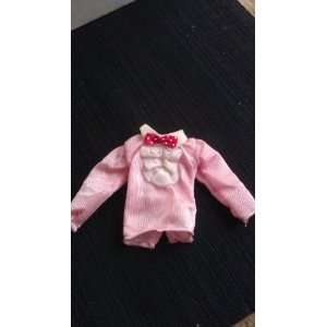 Michael Jackson Pink Billie Jean Shirt for 12 in Doll