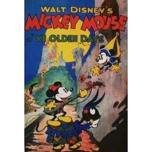 Mickey Mouse Walt Disney Productions Short Film Poster Mickey