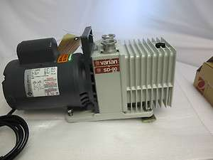 Varian SD 90 Dual Stage Rotary Vane Vacuum Pump