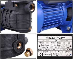 HP Swimming Pool Motor Water Pump Filter Ground