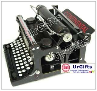 Hand Made Metal Art Bar Decor Model 1935 Portable TypeWriter