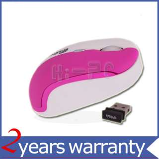 New Purple 2.4GH Wireless Mouse For PC Laptop