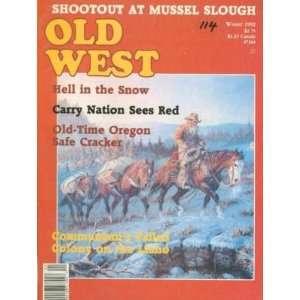 Old West Magazine Winter 1992 Bettina Colony Texas