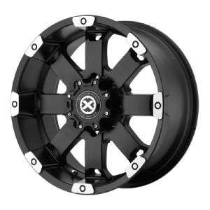 17 inch ATX Crawl black wheels rims 5x4.75 Chevy S10
