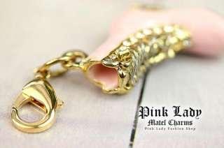 J101 Cute Pink Skate Shoe 3D Charm Pendant (1piece)