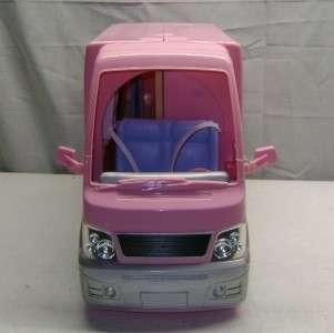 Barbie Pink RV Camper Motorhome Party Bus w/ HOT TUB w/ Sounds HTF GUC