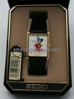 Seiko Disney Mickey Mouse Fantasia Watch NEW