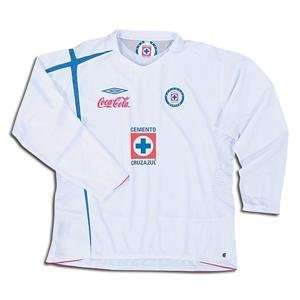 Cruz Azul 2007 LS Away Soccer Jersey: Sports & Outdoors