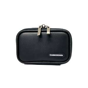 CaseCrown Double Memory Foam Compact Case (Black) for Sony